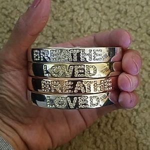 Bracelets set of 4